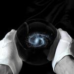 CinkS labs Calea Lactee într-o sferă de sticlă