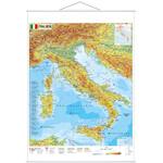 Stiefel Landkarte Italien