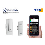 TFA Estação meteorológica sem fio Starter-Set mit Temperatursender WEATHERHUB