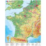 Stiefel Landkarte Frankreich