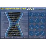 Astronomie-Verlag Plakaty Das Astronomische Jahr 2021