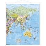 Stiefel Mapa antiguo de National Geographic: Asia
