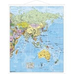 Stiefel Mappa Regionale Carta antica dell'Asia National Geographic