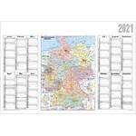 Stiefel Landkarte Jahresplaner 2021 Deutschland politisch
