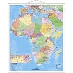 Stiefel Mapa de continente Afrika politisch mit PLZ