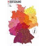Marmota Maps Kaart Deutschland politisch (70x100)