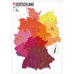 Marmota Maps Mappa Deutschland politisch (70x100)