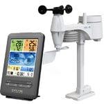 Explore Scientific Wireless weather station WLAN-Wettercenter mit 5-in-1 Profi-Sensor V