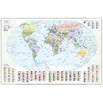 Idena Schreibunterlage Weltkarte