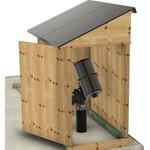 Dome Parts GmbH Observator cu acoperiș culisant GreenLine MICRO RM