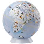 emform Globe Wildlife World Blue 25cm
