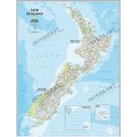 National Geographic Mappa New Zealand (60 x 77 cm)