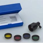 SCHOTT Fokussiervorsatz und Filterset für Lichtleiter bis Ø 5mm