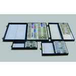 Windaus Caja estándar para almacenamiento de 50 portaobjetos