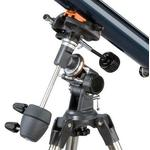Mount with telescope mounting
