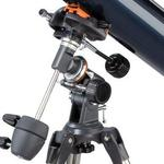 Montura con fijación de telescopio