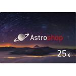 Vale de compras Astroshop no valor de 25 Euros
