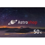 Astroshop voucher at a Value of 50 €