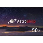 Vale de compras Astroshop no valor de 50 Euros
