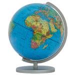 Globe Columbus Duplex argent 30cm (Anglais)