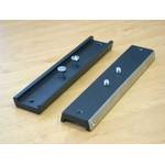 APM Placa tipo cauda de andorinha de 200mm com proteção de aço inoxidável