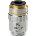 Novex Obiettivo piano acromatico PL 10x