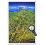 Bacher Verlag Mapa Oryginalna duża panorama Niemiec MAIR