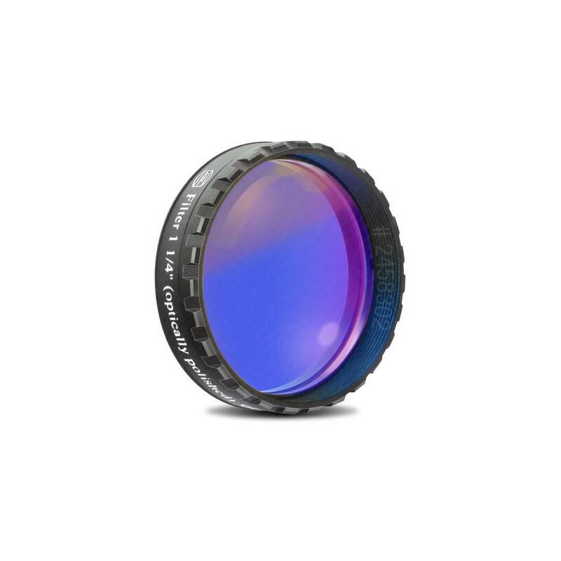Baader filtre bleu fonc 1 25 bande passante 435 nm poli for Miroir plan optique