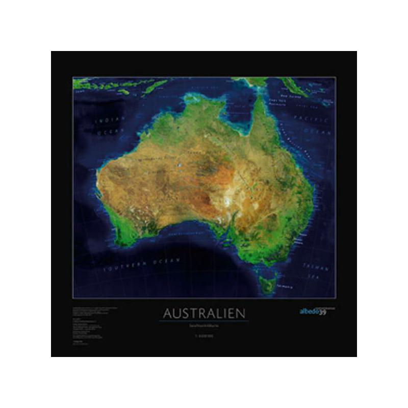 Map Of Australia From Space.Albedo 39 Continent Map Australia