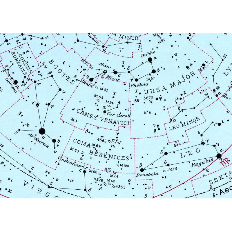 Freemedia Star Chart Sirius Carta Celeste Grande