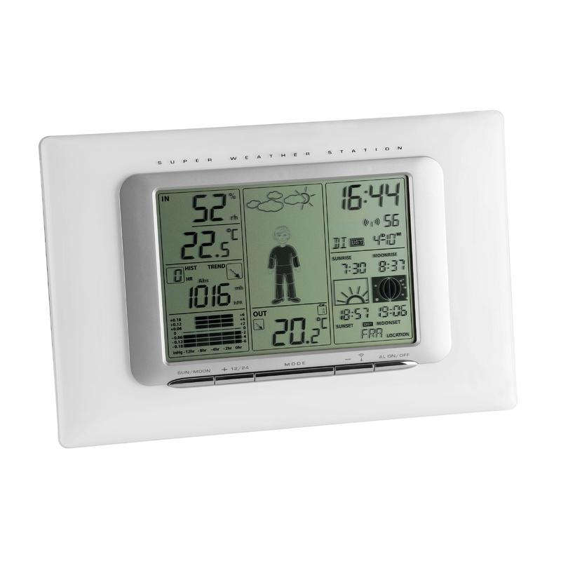 tfa wireless weather station meteo max. Black Bedroom Furniture Sets. Home Design Ideas