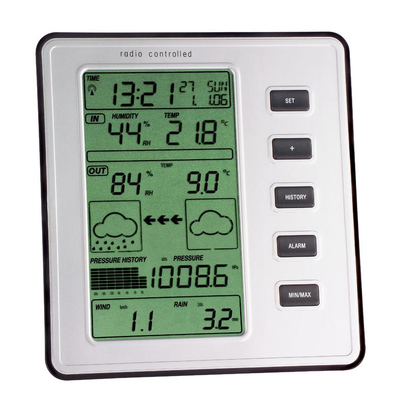 tfa wireless weather station stratos. Black Bedroom Furniture Sets. Home Design Ideas