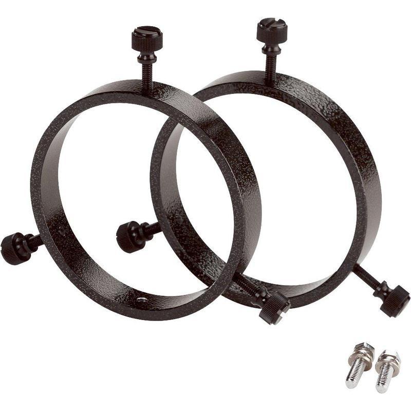 orion colliers d 39 attache pour lunette de vis e diam tre. Black Bedroom Furniture Sets. Home Design Ideas