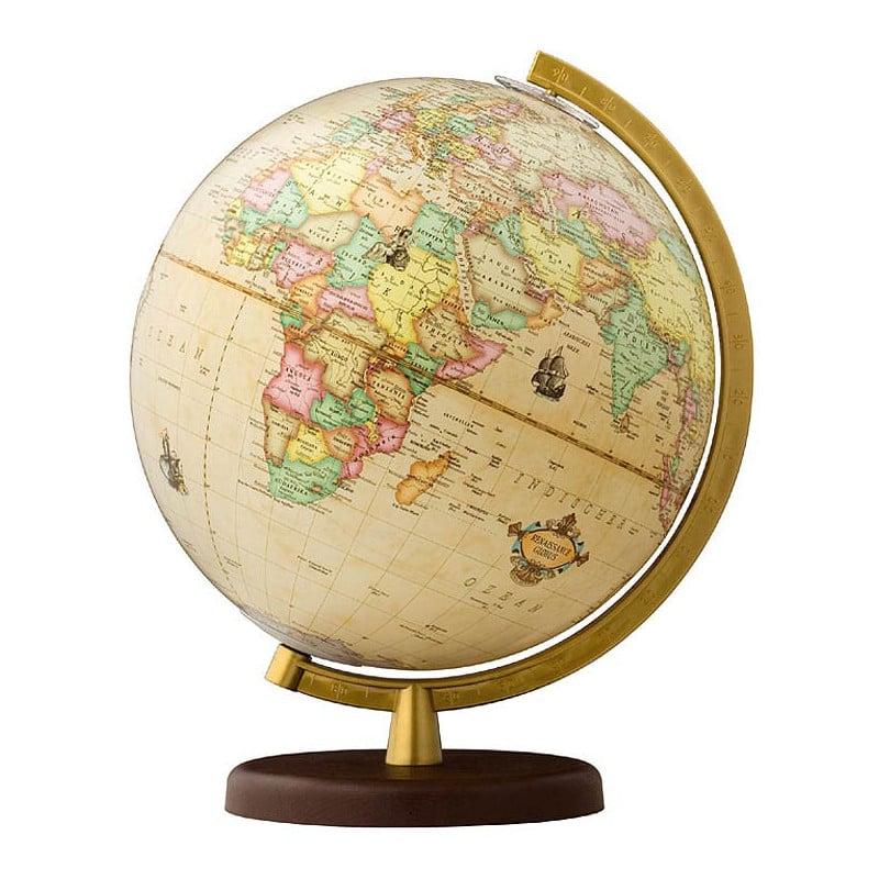 d045aa67ccf6c3 Home   Globes   Terra by Columbus   Terra   Terra by Columbus Renaissance  Illuminated Globe 26cm