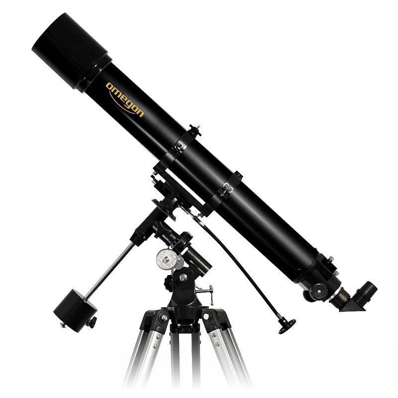 Das Omegon AC 90/1000mm EQ-2 Teleskop