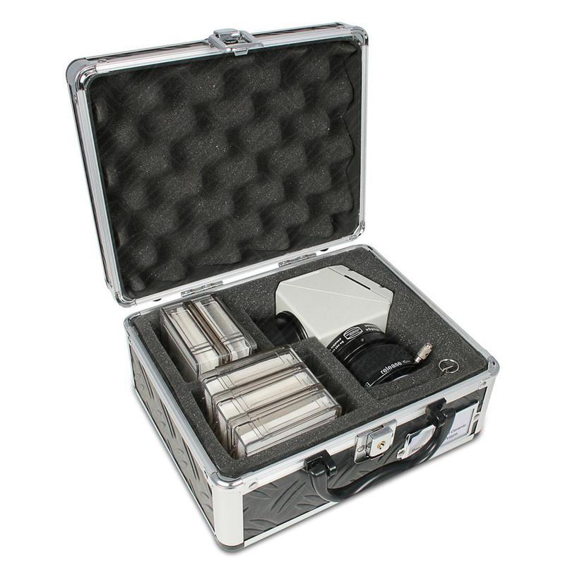 baader koffer f r safety herrschel prisma mit f chern f r bis zu 5 filtern. Black Bedroom Furniture Sets. Home Design Ideas