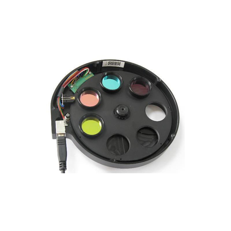 i nova roue fitres motoris e 1 25 avec jeu de filtres lrgb et adaptateur c mount. Black Bedroom Furniture Sets. Home Design Ideas