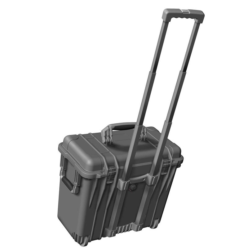 Peli malet n con ruedas m1440 negro con acolchado de espuma - Maletin herramientas con ruedas ...