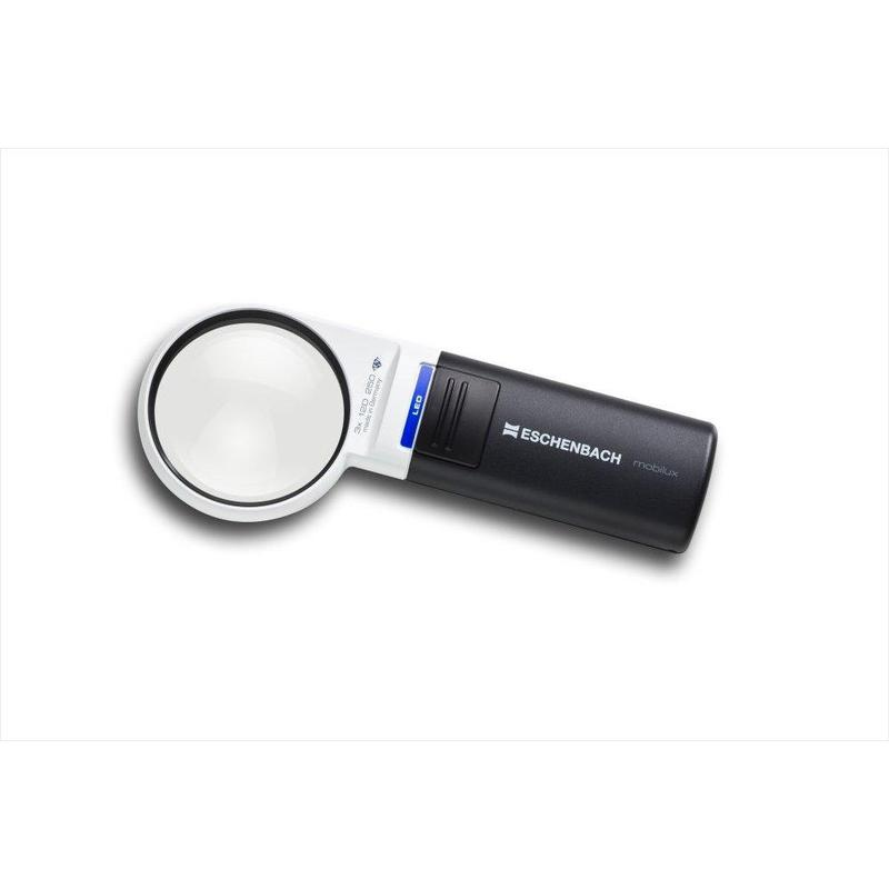 Eschenbach mobilux led 12d 3x 60mm magnifying glass for 12 x 60 window