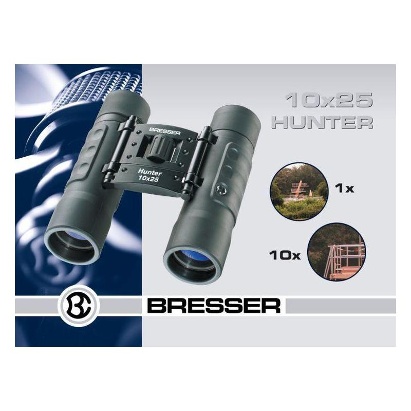 prismaticos - bresser hunter 10x25