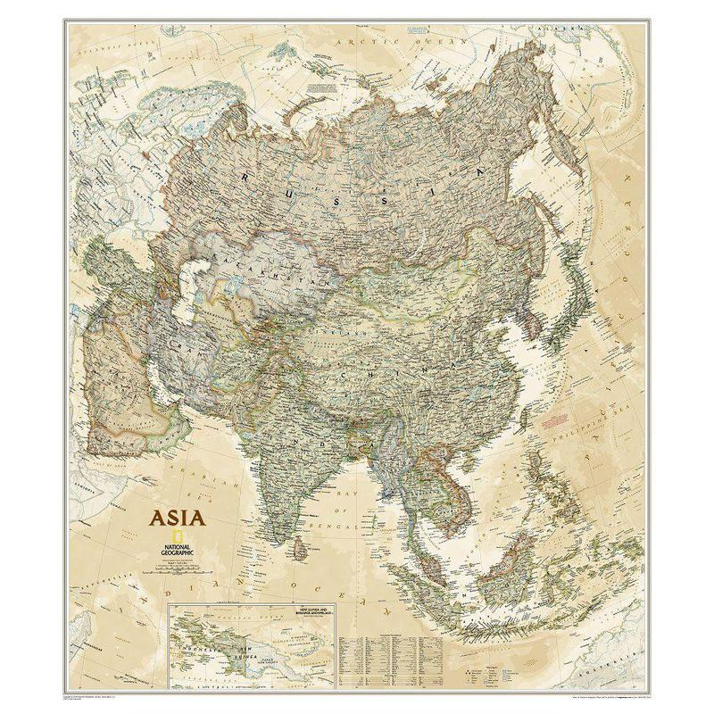 National Geographic antique map of Asia on large map of asia, google map of asia, political features of asia, pdf map of asia, physiographic map of asia, spanish map of asia, zoom map of asia, interactive map of asia,