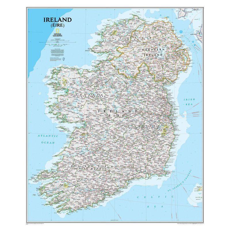 National geographic map ireland gumiabroncs Choice Image