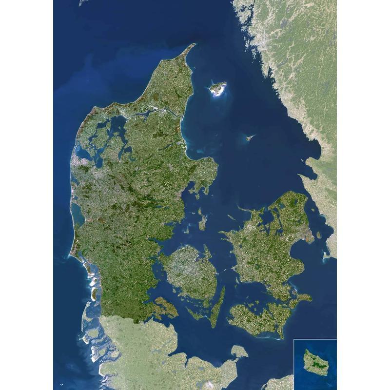 Planet Observer Harta Danemarca