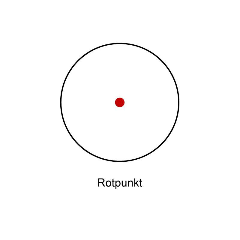 Visée Tasco Lunette Point NoireRéticule De Dot 1x30Finition Red KJTc1lF