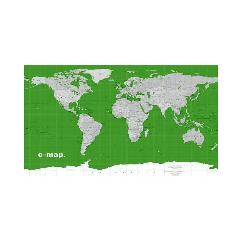 Columbus Cmap Map Of The World 3939 Green