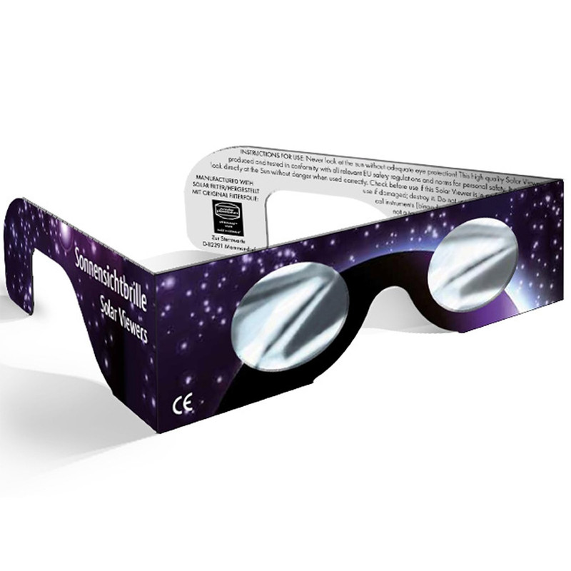 baader astrosolar solar eclipse observing glasses, 10 pieces