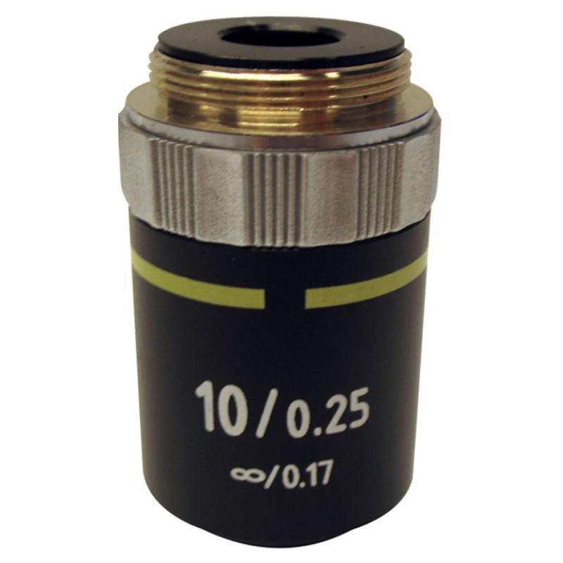 Optika Objective M-145, 10x/0,25, IOS, E-Plan for B-380