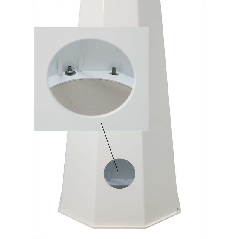 euro emc pied colonne d 39 observatoire p200 hauteur totale 100 cm. Black Bedroom Furniture Sets. Home Design Ideas
