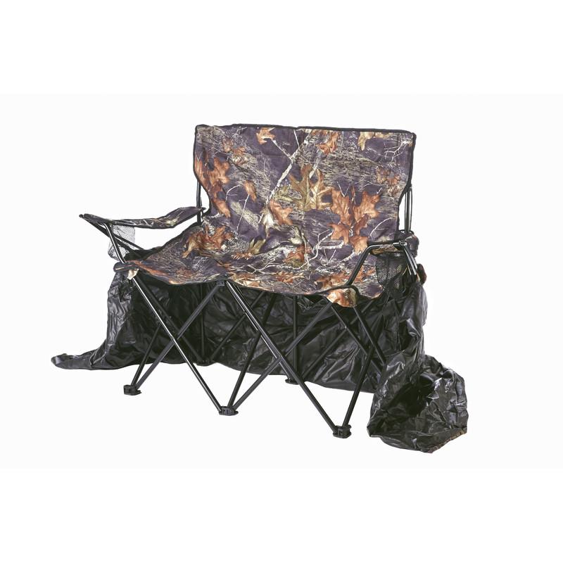 Stealth gear tente de camouflage pour 2 personnes avec chaise for Chaise longue pour 2 personnes