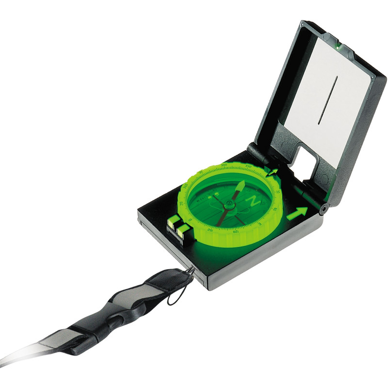 K r spiegelkompass lumo tec for Utilisation boussole miroir